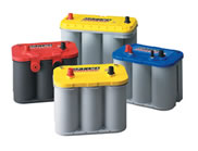 Optima Battery Range